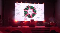 Ceremonia de închidere a Târgului de Crăciun