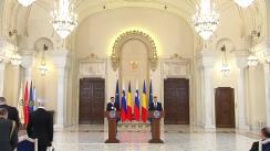 Declarație de presă comună a Președintelui României, Klaus Iohannis, cu Președintele Republicii Slovenia, Borut Pahor