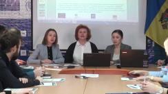 """Masa rotundă """"Acordul cadru - Recomandări de politici în domeniul achizițiilor publice din Republica Moldova și Propunerile de politici - Regulamentul cu privire la aprobarea listei entităților contractante și a cerințelor de transparență obligatorii minime la realizarea achizițiilor"""""""