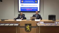 Conferința de presă prilejuită de lansarea Campanie de informare și sensibilizare #NU corupției în Poliție!