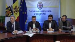 Declarații după ședința săptămânală a serviciilor primăriei Chișinău din 21 ianuarie 2019