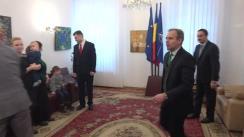 Ceremonie de înmânare a distincțiilor conferite de Președintele României unor personalități din Republica Moldova