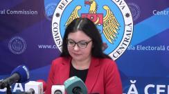 Declarațiile Alinei Russu după ședința Comisiei Electorale Centrale din 23 ianuarie 2019