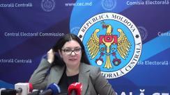 Declarațiile Alinei Russu după ședința Comisiei Electorale Centrale din 25 ianuarie 2019