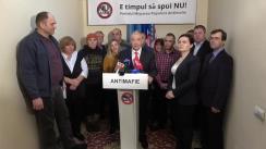 Lansarea în campania electorală pentru alegerile parlamentare din 24 februarie 2019 a Partidului Mișcarea Populară Antimafie
