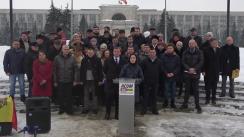 Lansarea candidaților ACUM în circumscripțiile din Chișinău