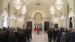 Întâlnirea anuală a Președintelui României, Klaus Iohannis, cu șefii misiunilor diplomatice acreditați la București