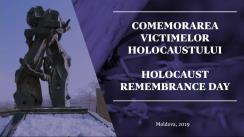 """Masa rotundă """"Comemorarea Holocaustului în Republica Moldova"""""""