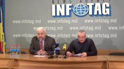 """Conferință de presă cu tema """"Compania """"MezGustCom"""" a pierdut peste 11 mil. de lei în urma acțiunilor ilegale ale angajaților Direcției Municipale pentru Siguranța Alimentelor Chișinău"""""""