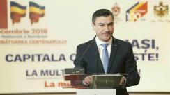Conferință de presă organizată de Primăria Municipiului Iași