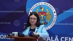 Declarațiile Alinei Russu după ședința Comisiei Electorale Centrale din 29 ianuarie 2019