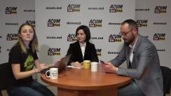 Maia Sandu, candidatul ACUM pe circumscripția 50 Europa de Vest - LIVE cu diaspora