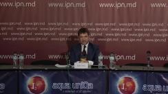 """Conferința de presă susținută de candidatul independent Călin Vieru cu tema """"Situația actuală în campania electorală"""""""