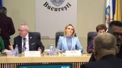 Ședința Consiliului General al Municipiului București din 31 ianuarie 2019