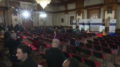 Conferință de presă cu participarea Înaltului Reprezentant al Uniunii pentru afaceri externe și politica de securitate, Federica Mogherini, și ministrului apărării naționale al României, Gabriel Leș
