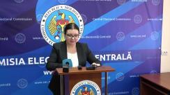 Declarațiile Alinei Russu după ședința Comisiei Electorale Centrale din 1 februarie 2019