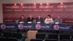 """Conferința de presă organizată de fermierul Daniel Bobuțac cu tema """"Mai mult de douăzeci de companii din agricultură jefuite în proporții deosebit de mari solicită implicarea instituțiilor statului"""""""