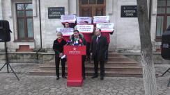 """Conferința de presă organizată de Partidul Socialiștilor din Republica Moldova cu tema """"Cu ce se va sfârși politica anti-rusească promovată de guvernare?"""""""