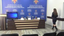 Conferință de presă organizată de Procuratura pentru Combaterea Criminalității Organizate și Cauze Speciale, împreună cu reprezentanții IGP, privind documentarea și deconspirarea unui grup criminal organizat specializat în punerea în circulație a drogurilor în mun. Chișinău