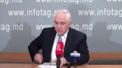 """Conferință de presă organizată de Președintele Congresului Comunităților Ruse din Republica Moldova, Valerii Klimenco, cu tema """"Despre fățărnicia socialiștilor"""""""