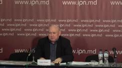 """Conferința de presă cu tema """"Politicienii încearcă să împiedice înregistrarea lui Ghelici în calitate de candidat la funcția de deputat. Instanța i-a dat dreptate lui Ghelici, însă lupta continuă"""""""