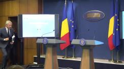 Conferință de presă susținută de Ministrul Finanțelor Publice, Eugen Orlando Teodorovici