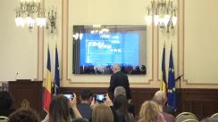 Conferință de presă organizată de Banca Națională a României pentru prezentarea Raportului asupra inflației