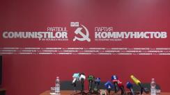 """Conferință de presă susținută de Președintele Partidului Comuniștilor din Republica Moldova, Vladimir Voronin, cu tema """"Prezentarea programului electoral și echipei PCRM pentru alegerile parlamentare 2019"""""""