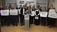 """Lansarea angajamentului ACUM în domeniul educației, cu titlul """"Învingem ACUM pentru o educație de calitate!"""""""