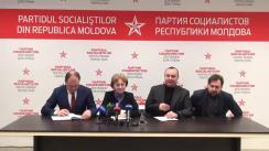 """Conferința de presă susținută de conducerea PSRM cu tema """"Despre desfășurarea campaniei electorale"""""""