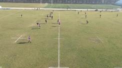 Meciul de Rugby între CS Cleopatra Mamaia U18 - Backwell RFC U18