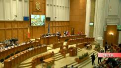 Ședința comună a Camerei Deputaților și Senatului României din 13 februarie 2019. Dezbateri asupra Proiectelor Legii bugetului de stat și a Legii bugetului asigurărilor sociale de stat pe anul 2019