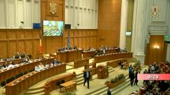Ședința comună a Camerei Deputaților și Senatului României din 14 februarie 2019. Dezbateri asupra Proiectelor Legii bugetului de stat și a Legii bugetului asigurărilor sociale de stat pe anul 2019