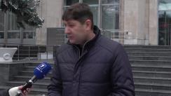 Conferința de presă susținută de Ion Terguță, candidatul ACUM în circumscripția 17 Nisporeni, care va înmâna Prim-ministrului Pavel Filip o solicitare din partea cetățenilor