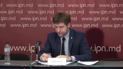 """Conferință de presă susținută de candidatul independent, Călin Vieru, cu tema """"Noutăți importante despre evoluția campaniei electorale"""""""