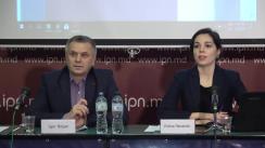 """Conferința de presă organizată de Asociația pentru Democrație Participativă ADEPT cu tema """"Lansarea raportului: Republica Moldova, de la promisiuni la realizări. Evoluțiile pe principalele domenii în perioada 2014-2018"""""""