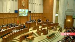 Ședința comună a Camerei Deputaților și Senatului României din 15 februarie 2019. Dezbateri și vot final asupra Proiectelor Legii bugetului de stat și a Legii bugetului asigurărilor sociale de stat pe anul 2019
