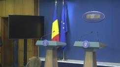 Conferință de presă după ședința Guvernului României din 15 februarie 2019