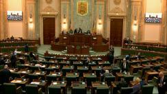 Ședința în plen a Senatului României din 18 februarie 2019