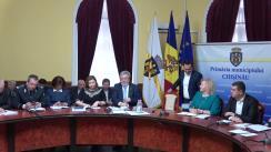 Ședința săptămânală a serviciilor primăriei Chișinău din 18 februarie 2019