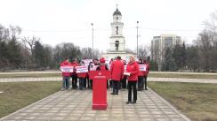 """Conferință de presă susținută de Partidul Socialiștilor din Republica Moldova cu tema """"Familia tradițională"""""""
