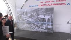 Inaugurarea șantierului de construcție a interconectorului Ungheni-Chișinău