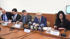 Briefing de presă susținut de Ministrul Agriculturii și Dezvoltării Rurale, Petre Daea, referitor la rezultatele obținute în prima lună din cadrul președinției române a Consiliului Uniunii Europene