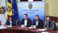Declarații după ședința săptămânală a serviciilor primăriei Chișinău din 18 februarie 2019