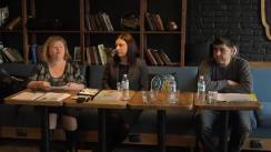 """Club de presă organizat de Centrul de Investigații Jurnalistice la tema """"Alegeri incluzive: Ce șanse au persoanele cu dizabilități, cele de diferite etnii, tinerii sau femeile de vota și a fi votați"""""""