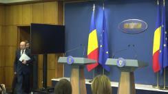 Conferință de presă după ședința Guvernului României din 19 februarie 2019