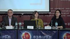 """Conferința de presă organizată de Coaliția pentru Alegeri Libere și Corecte cu tema """"Prezentarea Raportului nr. 4 de monitorizare a comportamentului mass-media în campania electorală"""""""