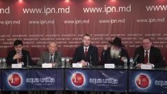 """Conferința de presă susținută de Organizația obștească """"Zarea"""" cu tema """"Suntem pentru alegeri corecte"""""""