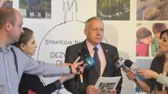 """Declarații de presă susținute de consilierul de stat László Borbély înainte de Conferința """"Contribuția asociațiilor de tineret la implementarea Strategiei naționale pentru dezvoltarea durabilă a României 2030"""""""
