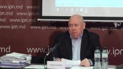 """Conferința de presă cu tema susținută de Fiodor Ghelici, președintele Asociației obștești """"Moldova mea"""", cu tema """"Fapte privind crime și trădarea alegătorilor. Cum a fost scos din cursa electorală un candidat al poporului"""""""
